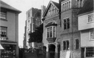 Cranbrook, Town Hall And St Dunstan's Church 1901