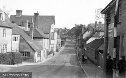 Cranbrook, Windmill Hill c.1955