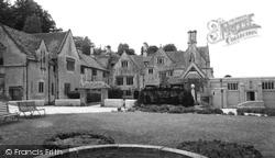 Cranham, Prinknash Abbey c.1960