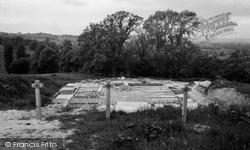 Cranham, Prinknash Abbey, Foundations Of The New Abbey c.1960