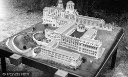 Cranham, Prinknash Abbey, Model Of The New Abbey c.1960