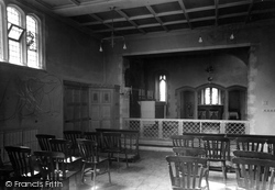 Cranham, Prinknash Abbey, The Laity Chapel c.1960