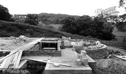 Cranham, Prinknash, Foundations Of The New Abbey c.1960