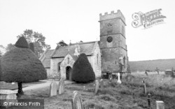 Cranham, St James' Church c.1960