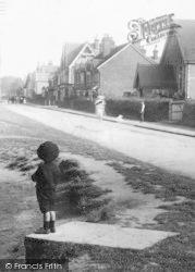 Cranleigh, Common, A Boy 1906