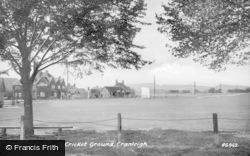 Cranleigh, Cricket Ground 1935