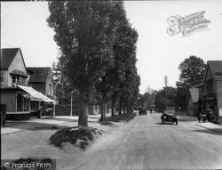 Cranleigh, High Street 1927