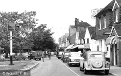 Cranleigh, High Street And Onslow Arms 1960