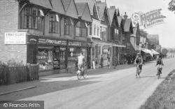 Cranleigh, High Street Shops 1935
