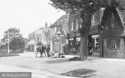 Cranleigh, Ironmonger And Furnisher Shop 1904