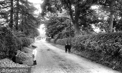 Cranleigh, Knowle Lane 1906