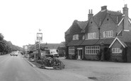 Cranleigh, the Cranley Hotel and High Street c1965