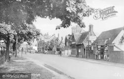 Cranleigh, The Village c.1955