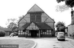 Cranleigh, The Village Hall c.1960