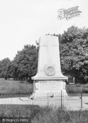 Cranleigh, War Memorial 1925