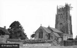 St Bartholomew's Church c.1950, Cranmore
