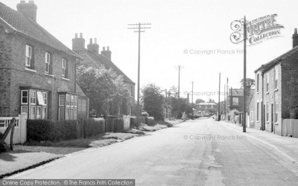 Photo of Cranswick, Station Road c.1960
