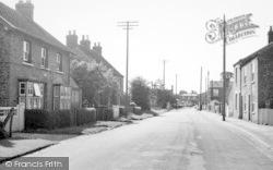 Station Road c.1960, Cranswick