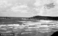 Bay And East Pentire Piont c.1930, Crantock