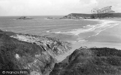 Bay From Vugga 1936, Crantock
