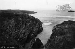 Crantock Bay 1918, Crantock