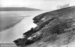 River Gannel And West Pentire 1928, Crantock