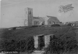 St Carantoc's Church 1894, Crantock