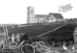 St Carantoc's Church 1899, Crantock