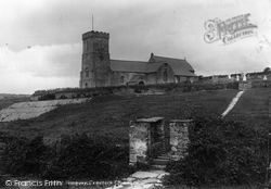 St Carantoc's Church 1904, Crantock