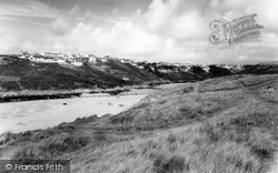 The Gannel c.1960, Crantock