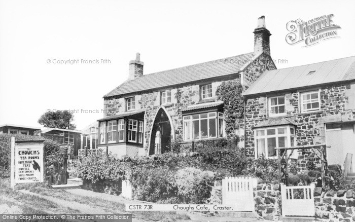 Photo of Craster, Choughs Cafe c.1960