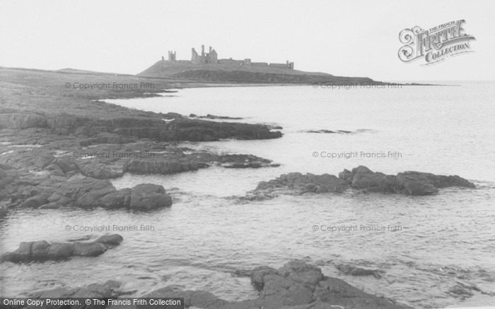 Photo of Craster, Dunstanburgh Castle c.1950