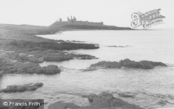 Craster, Dunstanburgh Castle c.1950