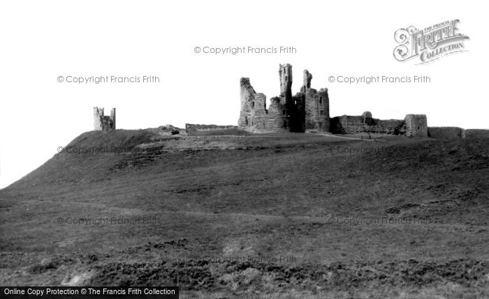 Photo of Craster, Dunstanburgh Castle c.1960