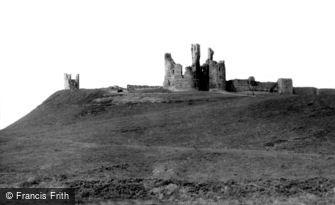 Craster, Dunstanburgh Castle c1960
