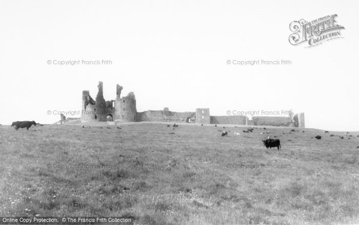 Photo of Craster, Dunstanburgh Castle c.1960