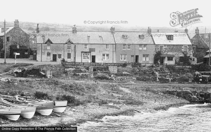 Photo of Craster, Harbourside Houses 1951