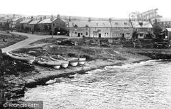 Craster, The Harbour 1951
