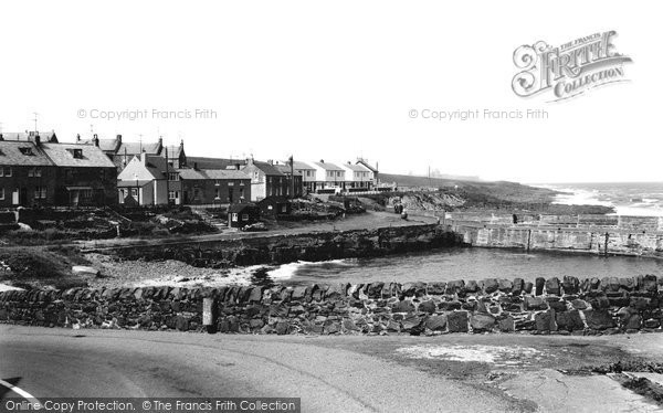 Craster, The Harbour 1964