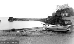 Craster, The Harbour c.1950