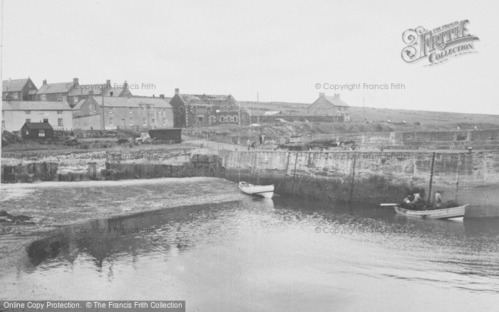 Photo of Craster, The Harbour c.1950