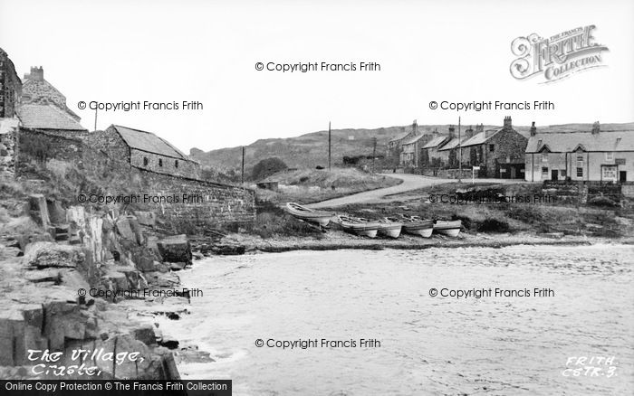Photo of Craster, The Village c.1950