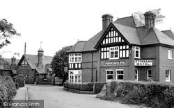 Stokesay Castle Hotel c.1955, Craven Arms