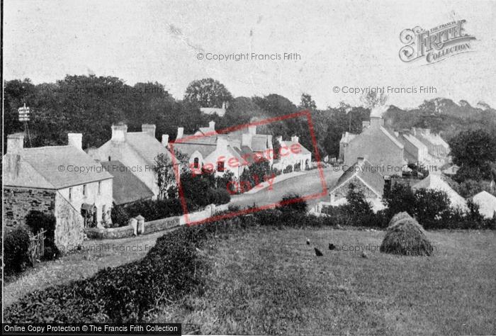 Photo of Crawfordsburn, The Village c.1900