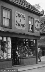Crawley, A Shop 1905