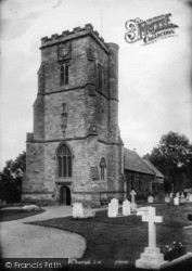 Crawley, Church Of St John The Baptist, South West 1907