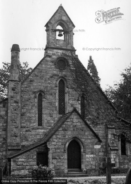 Photo of Crawley Down, All Saints' Church c.1955