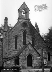 Crawley Down, All Saints' Church c.1955