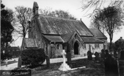 Crawley Down, All Saints' Church c.1960