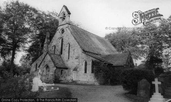 Photo of Crawley Down, All Saints' Church c.1960
